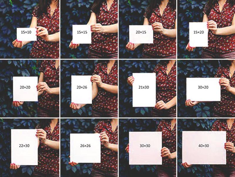 Какие бывают размеры фотографий для печати фото